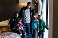 Syrian Refugees living in hotels