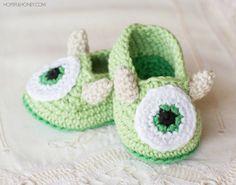GANCHILLO PATRÓN de botitas de bebé por HopefulHoneyDesigns