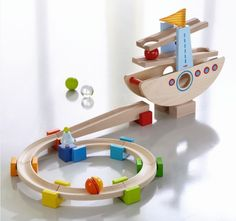 HABA Kugelbahn Schaukelschiff 6643 - HABA - Maxis-Babywelt