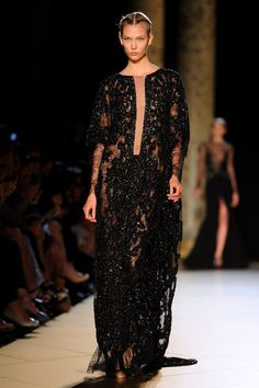 Karlie Kloss Photo - Elie Saab: Runway - Paris Fashion Week Haute Couture F/W 2013