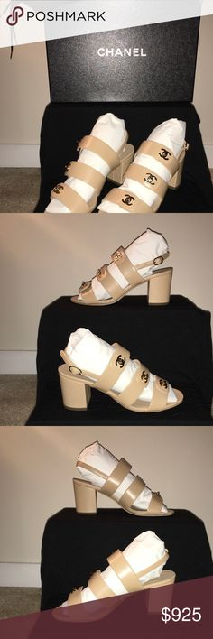 Chanel Sandals Women's EU37..... Brand new and never worn .... CHANEL Shoes Sandals