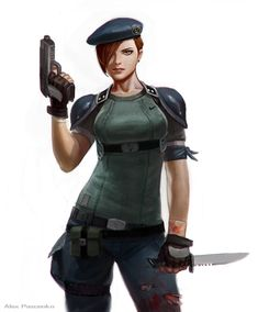 Daily @deviantART Picks for 07/23/2014 #JillValentine #ResidentEvil | Images Unplugged