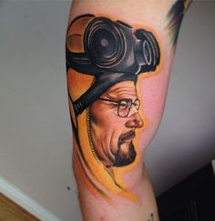 Walter Breaking Bad tattoo!  Do you have a tattoo that you want removed?  The CynoSure RevLite is the most advanced laser available for tattoo reversal, and it is at Luxury Med Spa!  Luxury Med Spa in Farmington Hills, MI is a GREAT place to pamper yourself!  Call (248) 855-0900 to schedule an appointment or visit our website medicalandspa.com for more information!