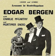 Lessons in Ventriloquism with Edgar Bergen
