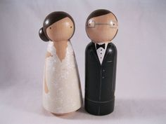 For glen and jings wedding cake topper
