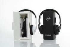 Nixon Headphones by uneka