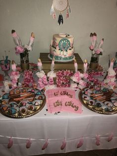 Baby Shower Candy Table, Boho Baby Shower, Baby Shower Fall, Baby Shower Themes, 23rd Birthday, It's Your Birthday, Birthday Party Themes, Birthday Ideas, Native American Baby