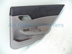 Used 2013 Honda Civic Rear passenger DOOR PANEL COMPLETE  83700-TR3-A21ZC 83700TR3A21ZC. Purchase from https://ahparts.com/buy-used/2013-Honda-Civic-Trim-liner-Rear-passenger-DOOR-PANEL-COMPLETE-83700-TR3-A21ZC-83700TR3A21ZC/82352-1?utm_source=pinterest
