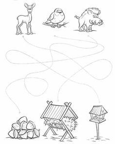 Baby Animal Drawings, Advent Wreath, Educational Toys, Case Study, Winter Wonderland, Baby Animals, Christmas Crafts, Preschool, Mandala