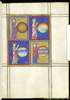 Psalter-Hours of Guiluys de Boisleux, MS M.730 fol. 9r - Images from Medieval and Renaissance Manuscripts - The Morgan Library & Museum