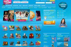 Vera&John er en av de største spillsidene og tilbyr hundrevis av alle typer spilleautomater!