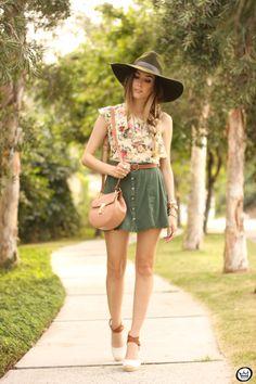 FashionCoolture - 18.08.2015 look du jour Displicent Amaro floral button-front A-line skirt  (1)