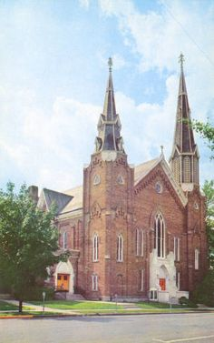 Oxford Methodist Church and Wesley Foundation Building :: Bowden Postcard Collection Online