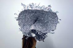 """Wear Disco"" from mask series;""False Face Society"". By Helene Duckert"