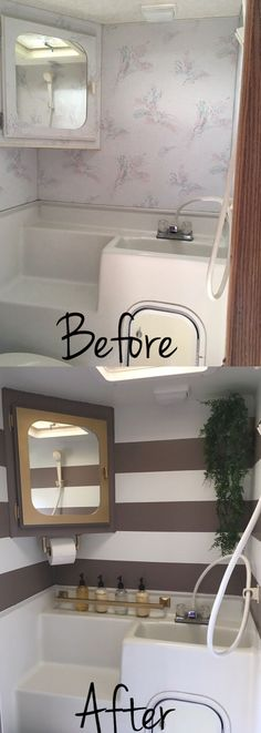 Camper remodel ideas for renovating rv travel trailers (25)