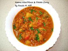 Keema Aloo/Minced Meat and Potato Curry | Fauzia's Kitchen Fun