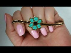 pulsera de delicas/miyuki - YouTube
