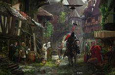 Ve městech vedle sebe žily různé skupiny obyvatel, mezi kterými byli také zločinci, tuláci nebo provozovatelé nečistých řemesel