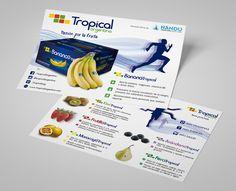 Diseño de Flyer para la firma Tropical con motivo de la maratón Ñandú de la Ciudad de Buenos Aires