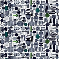 Marimekko fabrics - Buy online from Finnish Design Shop. All in-stock items ship within 24 hours. Discover Unikko and other Marimekko fabrics for a modern home!