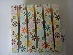 Retro Colourful Flowers mix fridge magnets by TheHomemadeHaven, £3.99