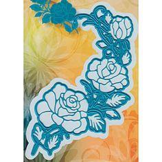 Joy! Crafts Cut & Emboss Die Rose Corner
