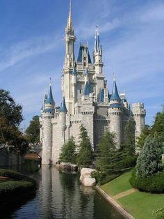 Cinderella Castle at the Magic Kingdom at Walt Disney World, FL