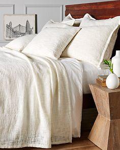 Rue La La — Melange Home Nightingale Linen Blanket Collection