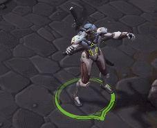Overwatch dancing Genji GIF