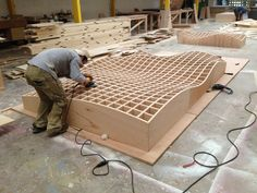 Wine rack surface in progress  By Piegatto