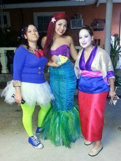 Donald Duck girl costume. Mulan costume