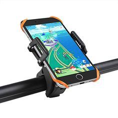Cycling GPS Units - Taotronics Bike Phone Mount Bicycle Holder Universal Cradle Clamp for iOS Android Smartphone GPS other Devices with Onebutton Released 360 Degrees Rotatable Rubber Strap *** Continue to the product at the image link.