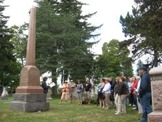 Our Annual Union Cemetery Tour will explore Sections A & D - Join us on Sept 11 at 2pm