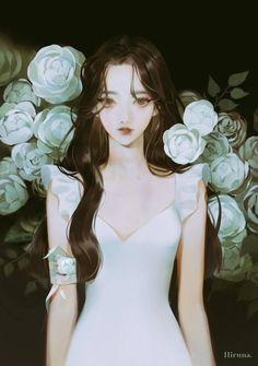 Anime Angel Girl, Anime Girl Hot, Manga Anime Girl, Pretty Art, Cute Art, Desenhos Halloween, Cute Manga Girl, Dibujos Cute, Handsome Anime Guys