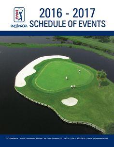 2016-2017 Schedule of Events