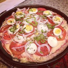 Receita dukan: Pizza maromba lowcarb