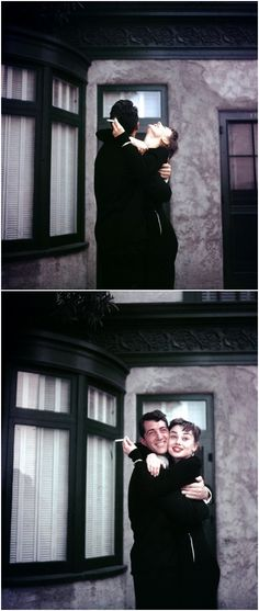 Audrey Hepburn and Dean Martin, 1953
