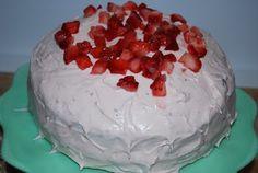 Gourmet Rooster: Strawberry Daiquiri Cake