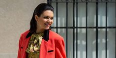 Kendall Jenner Makes Wiping Out on a Bike Look Chic
