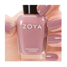 Zoya Nail Polish in Brigitte can be best described as full-coverage, bombshell mauve cream. Pair with any of the other Naturel Collection shades for a chic tone-on-tone look Color Family - Nude, Mauve Color Finish - Cream Color Intensity - 5 ( 1 = Sheer - 5 = Opaque ) Color Tone - Cool
