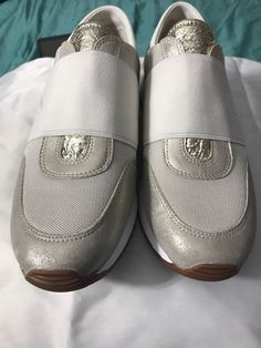 e6427aabfa27 MICHAEL KORS 7M 37TRAINER elastic SNEAKERS SHOES Brand New With Tags No box   125