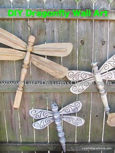 How To Create Dragonfly Wall Art...http://homestead-and-survival.com/how-to-create-dragonfly-wall-art/