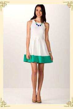 Shop Francesca's: The Hamptons Dress $44.00 - Spring Fever!