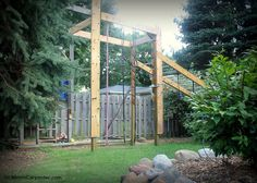27 DIY American Ninja Warrior Course, By Girl Meets Carpenter Featured On @Remodelaholic