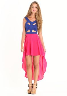Dramatic Effects Cut Out Dress By Reverse 79.00 at threadsence.com