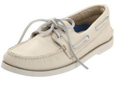 Sperry Top-Sider Men's Authentic Original Boat Shoe, white boat shoes for men,