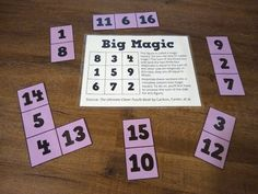 Magic Squares Math, Enrichment Activities, Leadership Activities, Group Activities, 8th Grade Math, Math Class, Math Teacher, Maths Puzzles, Ks2 Maths