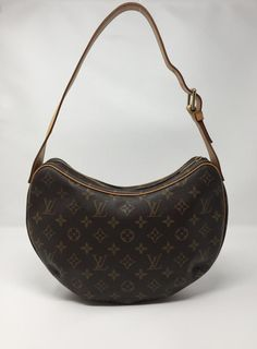 b7c3f2f75d05 The Louis Vuitton Croissant Monogram Mm Brown Canvas Shoulder Bag is a top  10 member favorite on Tradesy.