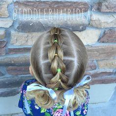 Toddlers Pull Through Braid