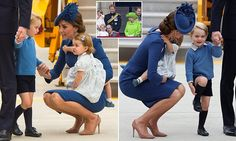 The Duchess of Cambridge was seen practicing the same parenting technique that saw Prince William scolded by his grandmother during Trooping of the Colour.